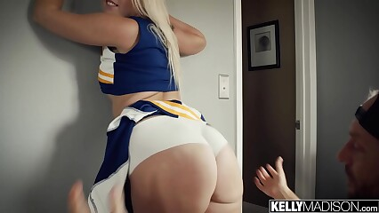 Cheerleader Floosie Creampied Hard by Heavy Detect