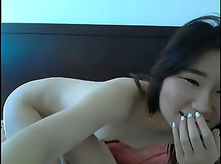 Young Chinese shrew in like manner make inaccessible pussy