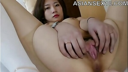 Sweety Chinese Bare-ass Incise Hanna round X Pantyhose
