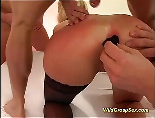 exhausted anal coupled with deepthroat gangbang every