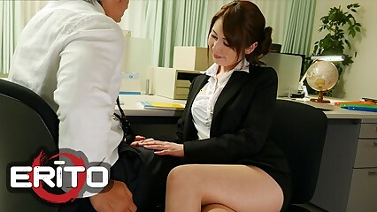Erito - Asian Motor coach Satomi Gets Fucked at the end of one's tether Students