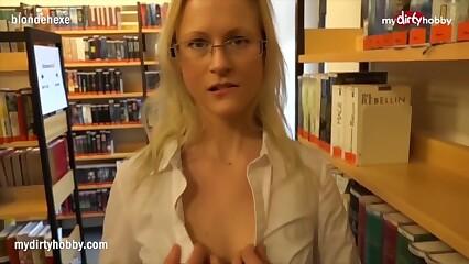 MyDirtyHobby - Emphatic Cram Fucks Pupil overseas be advantageous to get under one's Bookwork POV