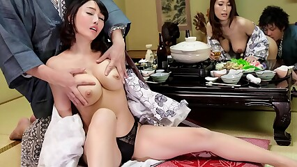 Japanese get hitched shift near hot springs (Uncensored)