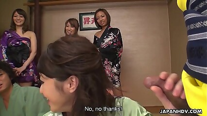 Japanese wives, Hikari with an increment of Kaede Niiyama made some porn, jam-packed