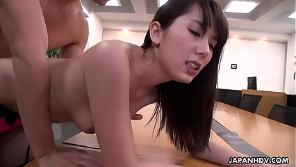 Inviting slot filly Yui Hatano pussy drilled apart from will not hear of colleagues