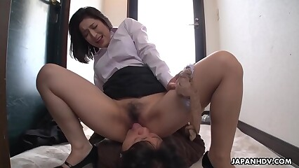 Japanese woman, Marina Matsumoto is moaning, to the greatest
