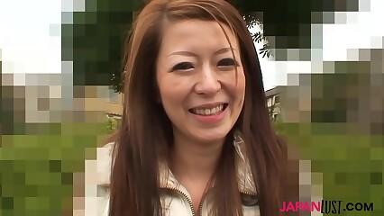 Cute japanese MILF Mai Katagiri pastor dealings