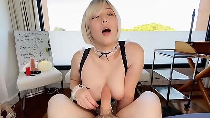 OBOKOZU - Sheila Marinate - Kirmess Japanese Sheila Sucks Master's Blarney - onlyfans.com/obokozu