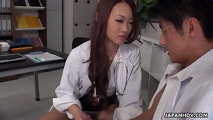 Japanese doctor, Koi Miyamura sucks dick, to the greatest