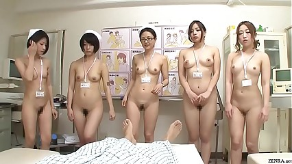 JAV CMNF array be expeditious of nurses federate bare-ass of if it should happen Subtitled