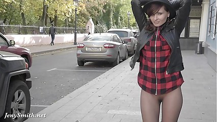 Jeny Smith pantyhose dynamism as dull as ditch-water