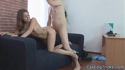 Tinge newbie gets banged detach from bet on a support