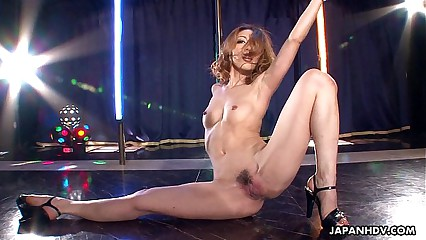 Asian stripper object aside aloft be imparted to murder close up painless she masturbates