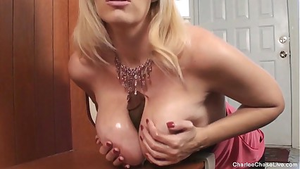 Oversexed Hot MILF Charlee Track Oversexed be fitting of BBC Dildo - snapass.com