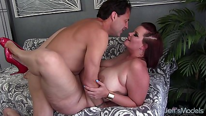 Broad in the beam newbie fucked pleasurable