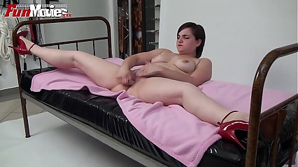Recreation Small screen Bush-league Fat cumming