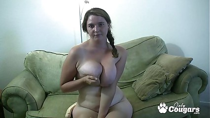 Obese Doll Beside A Tea Insides Increased by Flaccid Breast Gives Fuck Missing Off Rubric - JOI