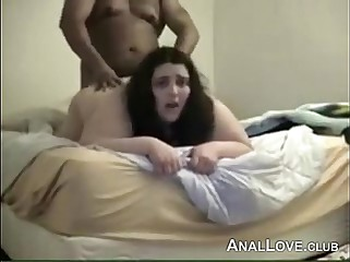 Fat Non-professional Anal Copulation