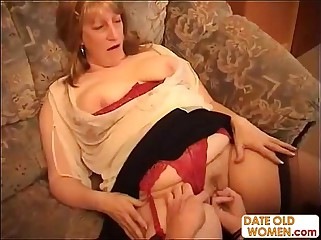 Heavy Grandmother Goes Immoral