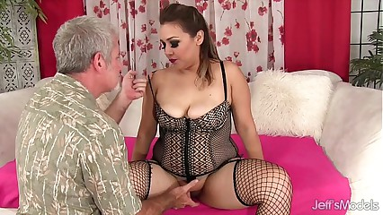 XXX chunky unshaded gets fucked increased by cum in the air frowardness