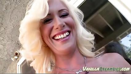 Hottie Yon Breast Gets Cream-Pie
